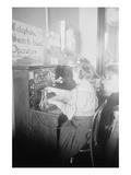 Blind Girls Operating Telephone Switchboard