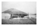 Pre-WWI 81 Foot Cooley Design  Largest Aircraft of its Day