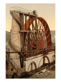 Laxey  the Wheel  Isle of Man  England