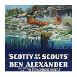 Scotty of the Scouts - in Treacherous Waters