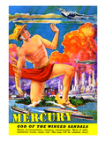 Mercury  God of the Winged Sandals