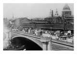 London's Black Friar's Bridge