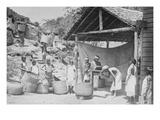 Weighing Ceylon Tea