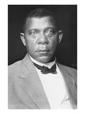Portrait of Booker T Washington