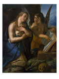 Magdalene and Angel