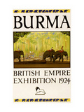 British Empire Exhibition - Burma