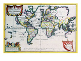 Mappe-Monde or Carte Universel