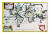 Mappe-Monde or Carte Universel