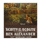 Scotty of the Scouts - Quicksand Canyon