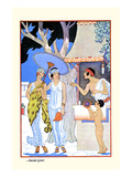 Grèce antique Reproduction d'art par Georges Barbier