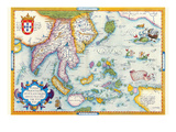 East Indies by Ortelius