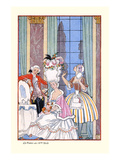 France in the 18th Century Reproduction d'art par Georges Barbier