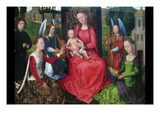Virgin and Child with Saints Catherine of Alexandria and Barbara  Early 1480S