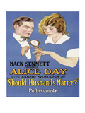 Should Husband's Marry