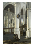 Interior of the Old Church in Delft  1650–52