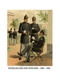 Pickelhaube for Officers - 1880 - 1885 -