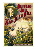 Buffalo at San Juan Hill - Rough Riders Heroic Charge