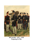 Big Guns - 1851 - 1858 - Preparing for War
