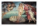 La naissance de Vénus Reproduction d'art par Sandro Botticelli