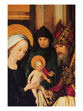 Maria and Archpriest with the Christ