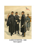 Capes in Winter - 1888 - Snow Apparel
