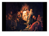 Doubting Thomas by Rembrandt