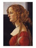 A Young Woman - Simonetti Vespucci