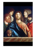 Christ with Four Apostles