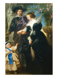 Rubens  His Wife Helena Fourment and One of the their Children