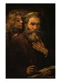 Evangelist Mathaus and Angel
