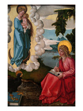 Saint John on Patmos  Ca 1511