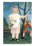 Child with Puppet