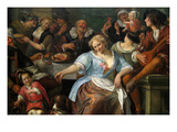 Merry Company on a Terrace  Ca 167375