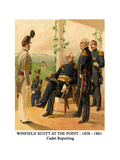 Winfield Scott at the Point - 1858 - 1861 - Cadet Reporting