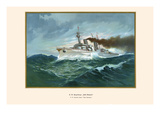 "HM Armored Cruiser ""Prince Bismarck"""