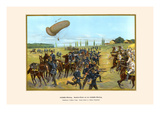 Balloon Reconnaissance Troops - Cavalry Attack on a Balloon Detachment