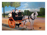 The Carriage of Father Juniet and His Family