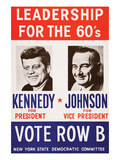 Leadership for the 60's - Vote Row B