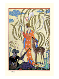 Persia Reproduction d'art par Georges Barbier