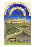 Le Tres Riches Heures Du Duc De Berry - March