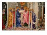 The Presentation of Christ in the Temple  Predella Panel  Ca 1440
