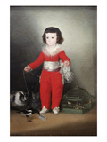 Manuel Osorio Manrique De Zu&#241;iga  a Child with His Pets
