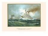"""HM First Class Battleships """"Kaiser Wilhelm II"""" and """"Kaiser Friedrich III"""""""