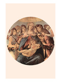 Maria with Christ Child and Six Angels