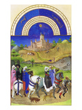 Le Tres Riches Heures Du Duc De Berry - August