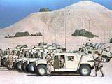 Gulf War US Marines Humvees