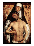 Maria with Dying Christ by Memling