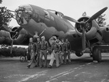 WWII Flying Fortress Crew 1942