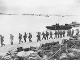 WWII US Troops Invade Saipan
