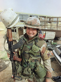 Saudi Arabia Army US Troops Women Tanya Brinkley